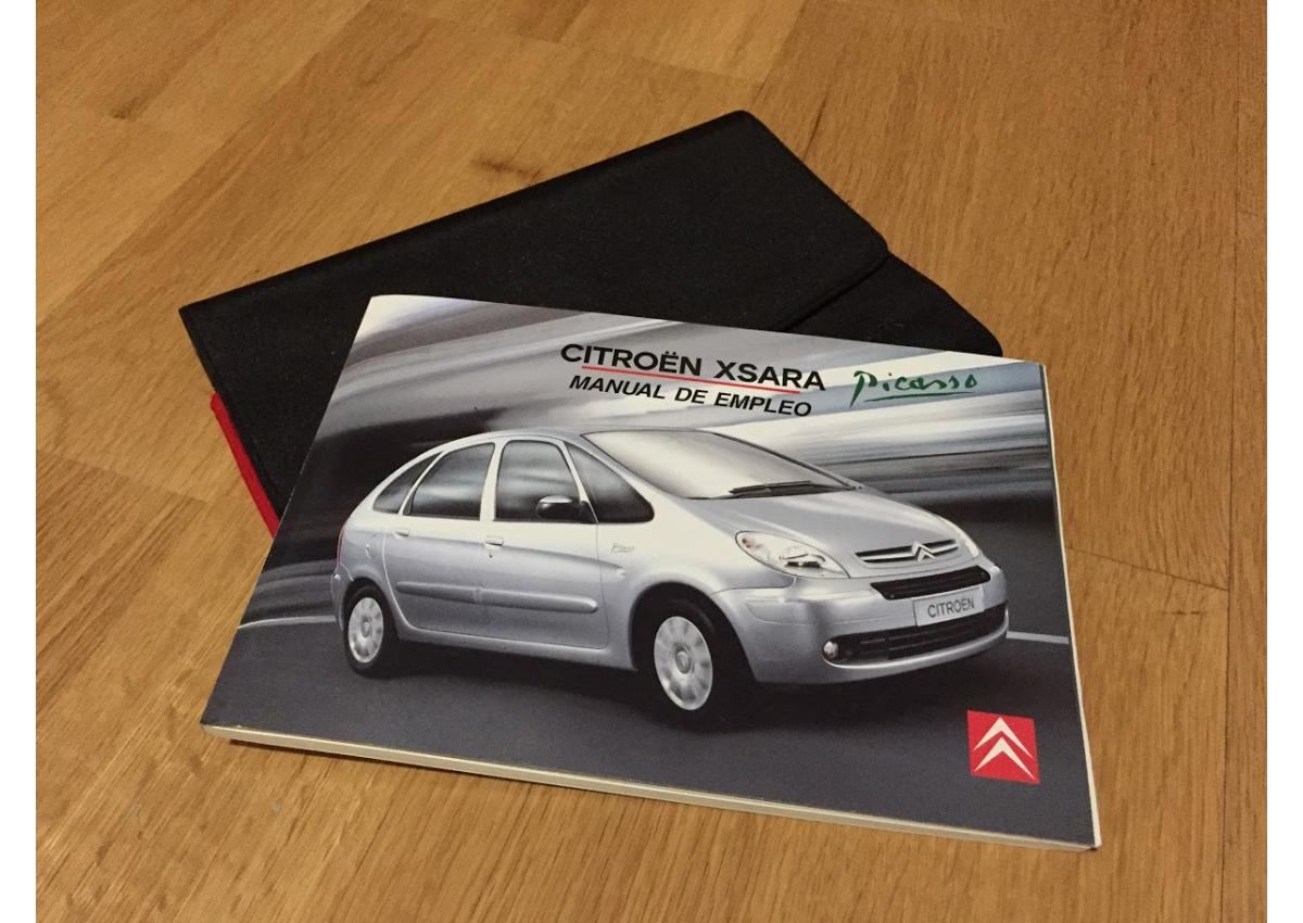 Manual Citroën Xsara Picasso - 1/2